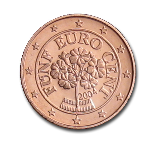 austria 5 cent coin 2004 euro the online euro coins catalogue. Black Bedroom Furniture Sets. Home Design Ideas