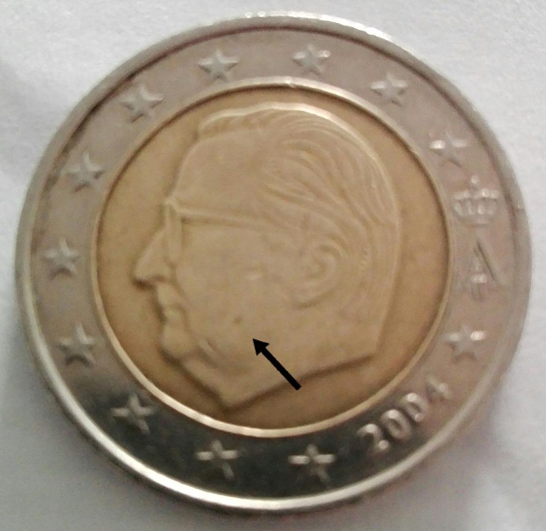 Belgien 2 Euro Münze 2004 Euro Muenzentv Der Online Euromünzen