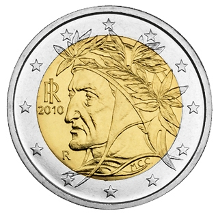 Italy 2010 Set of 8 Euro Coins UNC