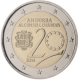 Andorra 2 Euro Coin - 20 Years in the Council of Europe 2014 - © European Central Bank