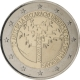 Andorra 2 Euro Coin - 70th Anniversary of the Universal Declaration of Human Rights 2018 - © European Central Bank