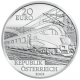 Austria 20 Euro silver coin Austrian Railways - The Railway of the Future 2009 Proof - © Humandus