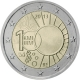 Belgium 2 Euro Coin - 100 Years of Royal Meteorological Institute 2013 - © European-Central-Bank