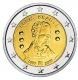 Belgium 2 Euro Coin - 200th Anniversary of the Birth of Louis Braille 2009 - © Michail