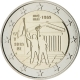 Belgium 2 Euro Coin - 50th Anniversary of May 1968 Events in Belgium - Student Revolt 2018 - © European Central Bank