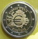 Cyprus 2 Euro Coin - 10 Years of Euro Cash 2012 - © eurocollection.co.uk