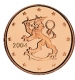 Finland 1 Cent Coin 2004 - © Michail