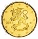 Finland 20 Cent Coin 2013 - © Michail