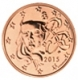 France 1 Cent Coin 2015 - © Michail