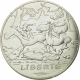 France 10 Euro Silver Coin - Values of the Republic - Asterix II - Liberty - Movement 2015 - © NumisCorner.com