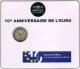 France 2 Euro Coin - 10 Years of Euro Cash 2012 in a Blister - © Zafira