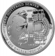 Germany 10 Euro silver coin 200. birthday of Gottfried Semper 2003 - Brilliant Uncirculated - © Zafira