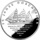 Germany 10 Euro silver coin 50 years Sail training ship Gorch Fock II 2008 - Brilliant Uncirculated - © Zafira