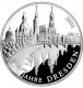 Germany 10 Euro silver coin 800 years Dresden 2006 - Brilliant Uncirculated - © Zafira