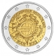 Germany 2 Euro Coin - 10 Years of Euro Cash 2012 - D - Munich - © Michail