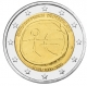 Germany 2 Euro Coin 2009 - 10 Years Euro - WWU - J - Hamburg - © Michail