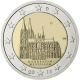 Germany 2 Euro Coin 2011 - North Rhine Westphalia - Cologne Cathedral - D - Munich - © European Central Bank