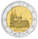 Germany 2 Euro Coin 2011 - North Rhine Westphalia - Cologne Cathedral - J - Hamburg - © Michail