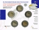 Germany 2 Euro Coins Set 2011 - North Rhine Westphalia - Cologne Cathedral - Brilliant Uncirculated - © Zafira