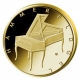Germany 50 Euro Gold Coin - Musical Instruments - Fortepiano - A (Berlin) 2019 - © Michail