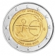 Greece 2 Euro Coin - 10 Years Euro - WWU - ONE 2009 - © Michail