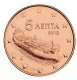Greece 5 Cent Coin 2013 - © Michail