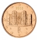 Italy 1 Cent Coin 2003 - © Michail