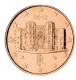 Italy 1 Cent Coin 2013 - © Michail