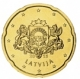 Latvia 20 Cent Coin 2015 - © Michail