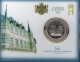 Luxembourg 2 Euro Coin - 150th Anniversary of the Luxembourg Constitution with mintmark Luxemburgian lion 2018 - Coincard - © Coinf