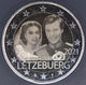 Luxembourg 2 Euro Coin - 40th Wedding Anniversary of Grand Duchess Maria Teresa With Grand Duke Henry - Minted Photo Image 2021 - © eurocollection.co.uk