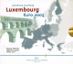 Luxembourg Euro Coinset Architectural style of the period Ancient world 2005 - © Zafira