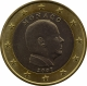 Monaco 1 Euro Coin 2007 without mintmark next to the year of manufacture - © eurocollection.co.uk