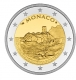 Monaco 2 Euro Coin - 800th Anniversary of the Construction of the first Fortress on the Rock 1215 - 2015 Proof - © Michail