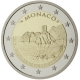 Monaco 2 Euro Coin - 800th Anniversary of the Construction of the first Fortress on the Rock 1215 - 2015 Proof - © European Central Bank
