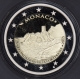 Monaco 2 Euro Coin - 800th Anniversary of the Construction of the first Fortress on the Rock 1215 - 2015 Proof - © eurocollection.co.uk