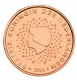 Netherlands 1 Cent Coin 2001 - © Michail