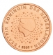 Netherlands 2 Cent Coin 2009 - © Michail