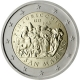 San Marino 2 Euro Coin - 500th Anniversary of the Death of Pinturicchio 2013 - © European-Central-Bank