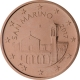 San Marino 5 Cent Coin 2017 - © European Central Bank