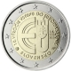 Slovakia 2 Euro Coin - 10 Years of Slovakian Membership in European Union 2014 - © European Central Bank