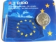 Slovakia 2 Euro Coin - 30th Anniversary of the EU Flag 2015 - Coincard - © Münzenhandel Renger