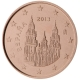 Spain 1 Cent Coin 2013 - © European Central Bank