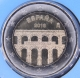 Spain 2 Euro Coin - UNESCO World Heritage Site - Old City of Segovia and its Aqueduct 2016 - © eurocollection.co.uk