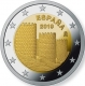 Spain 2 Euro Coin - UNESCO World Heritage Site - The Old Town of Avila and Its Churches Outside the Walls 2019 - © European Union 1998–2020