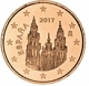 Spain 5 Cent Coin 2017 - © Michail