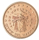 Vatican 1 Cent Coin 2005 - Sede Vacante MMV - © Michail