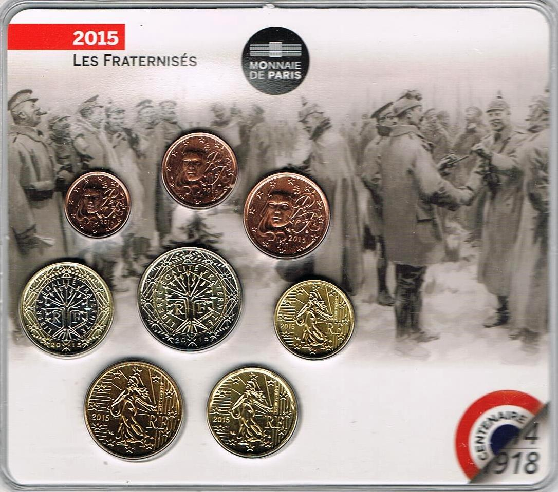 France Euro Coinset - Special Coinset - First World War