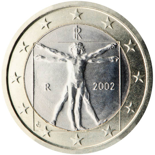 italy 1 euro coin 2002 euro the online. Black Bedroom Furniture Sets. Home Design Ideas