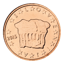 slovenia 2 cent coin 2015 euro the online. Black Bedroom Furniture Sets. Home Design Ideas